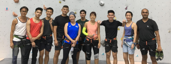 SINGAPORE NATIONAL CLIMBING STANDARD (SNCS) LEVEL 1 CERTIFICATION COURSE (19 Nov 2017)