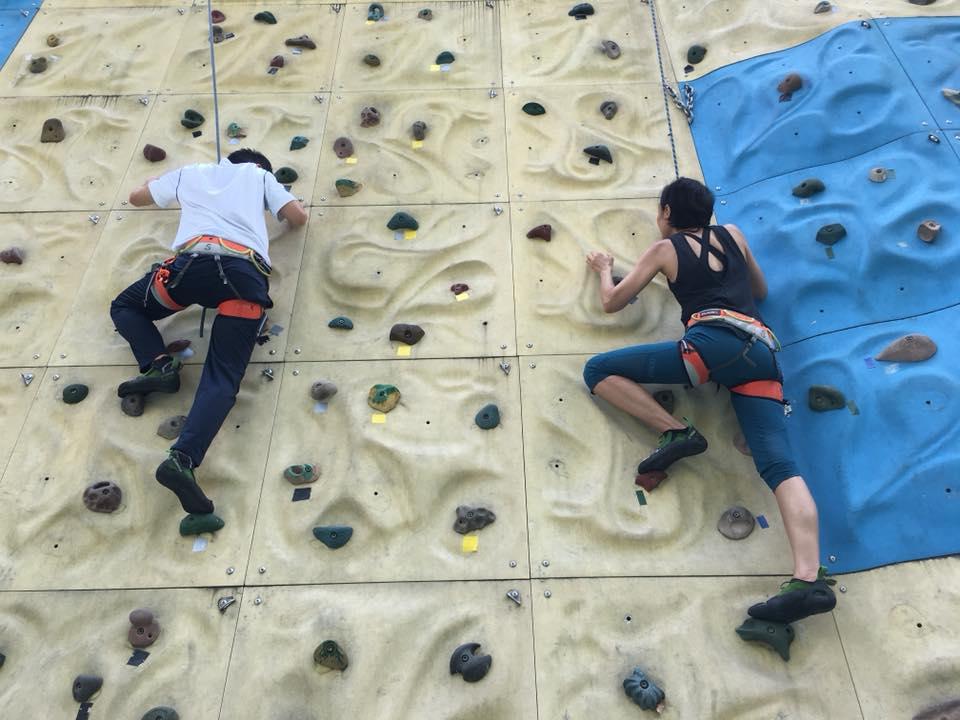 Sports Climbing: Top Rope Climbing