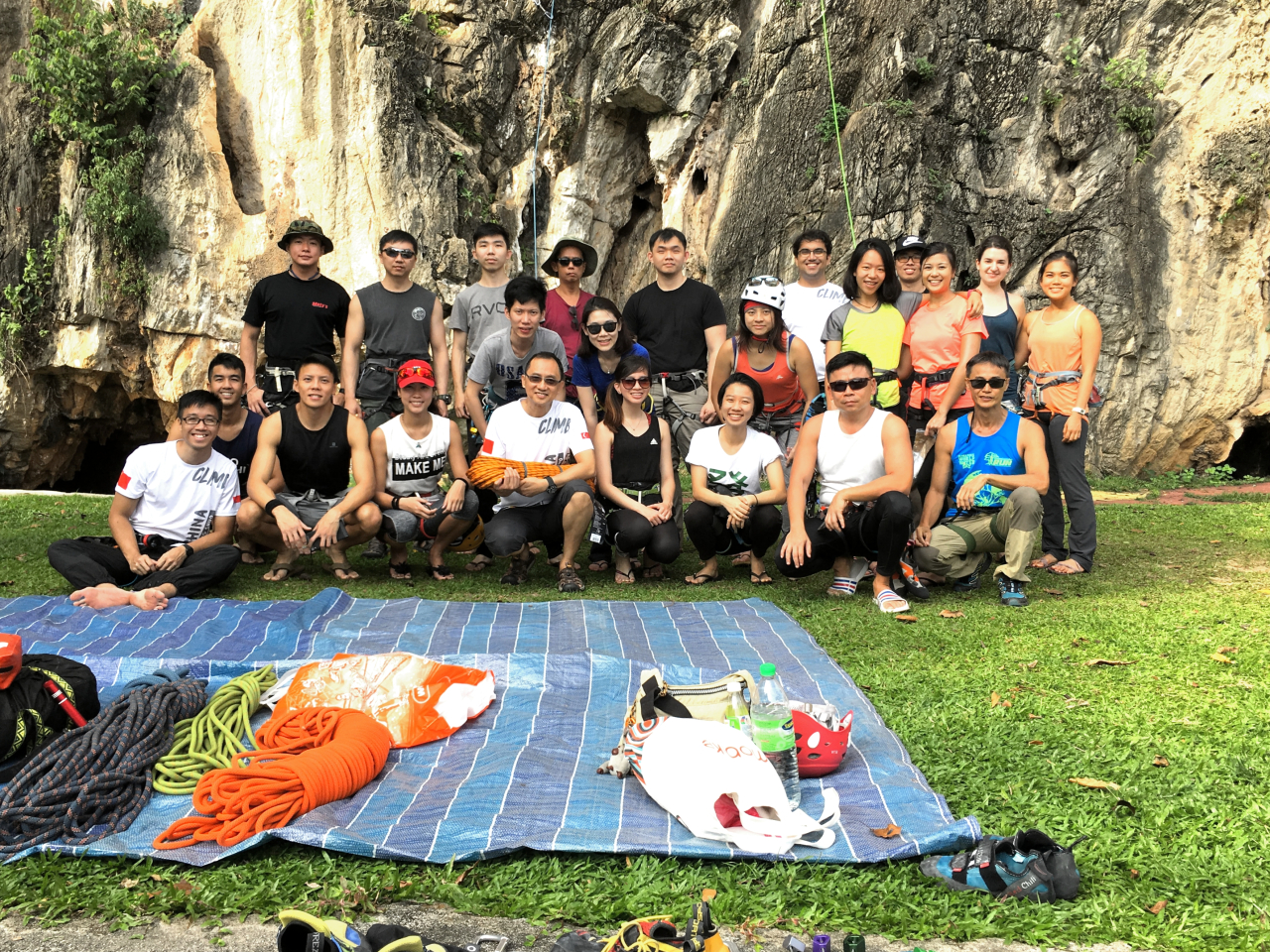 Batu Caves Rock Climbing Trip – 4-6 May 2018